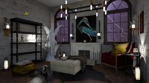 Petit salon vintage - Vintage - Living room  - by Jess52