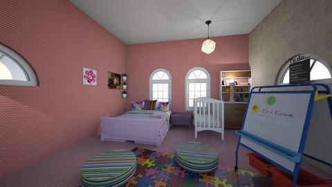 modern bedroom - Modern - Bedroom  - by Xxbunny_lovexX