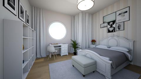 sypialnia - Classic - Bedroom  - by SA_Karpinska