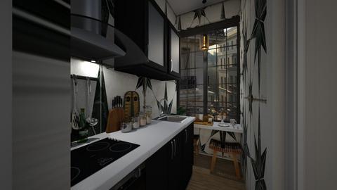 Casa309Kitchen - Vintage - Kitchen  - by nickynunes
