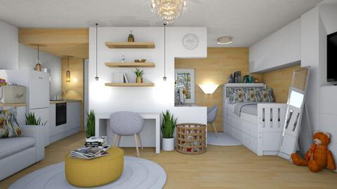STUDENT DORM - Bedroom  - by KC Pechangco