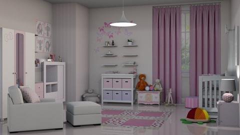 Baby Girl Room  - Kids room  - by bigmama14