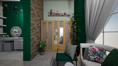 Nitesh_bedroom - Bedroom  - by aayu