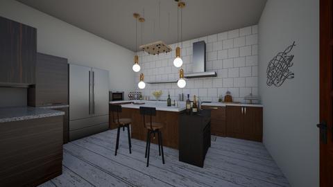 Smooth Kitchen - Kitchen - by Anea Designs