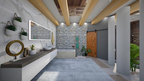 Nature Bathroom - Bathroom  - by rea sabs