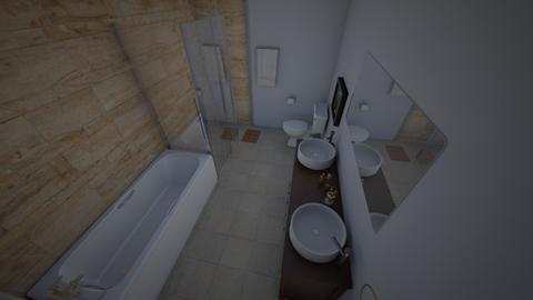 Guest Bath - Bathroom  - by WALKUF