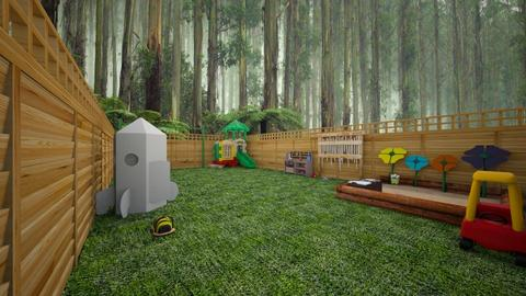 outside play area - Garden  - by wolfiewolf123