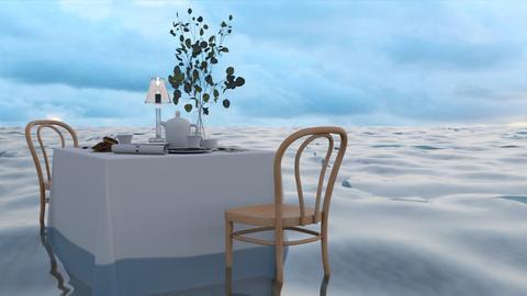 Dining at sea - Minimal - Garden  - by HenkRetro1960