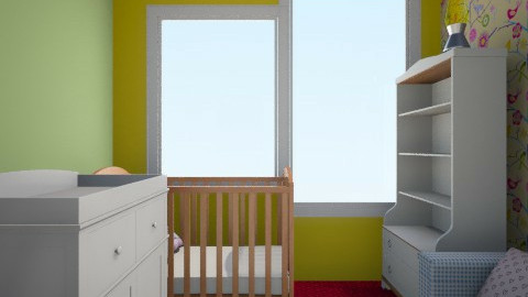 Kids room - Minimal - Kids room  - by terusenka