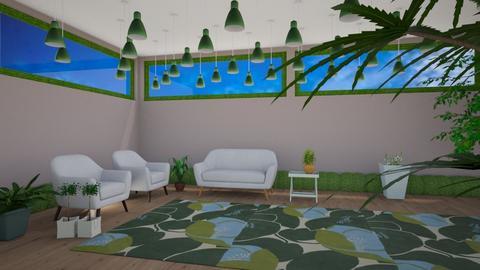 Mismatch Nature - Living room  - by designcat31