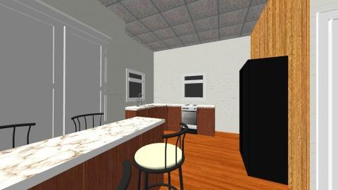 kitchen point street - Minimal - Kitchen  - by jpenta13