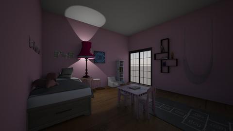 Londons  bedroom - Kids room  - by pandamasterwon