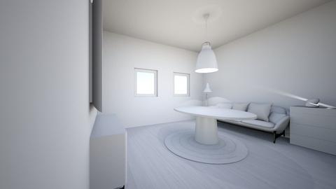 white living room - Living room  - by jslyn
