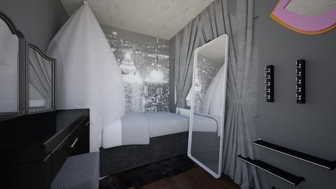 New york themed room - Bedroom - by ijeojimiwe