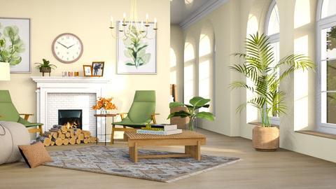 ddssxc - Living room  - by iraa