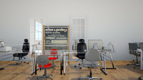 home office - Eclectic - Office - by kincso12
