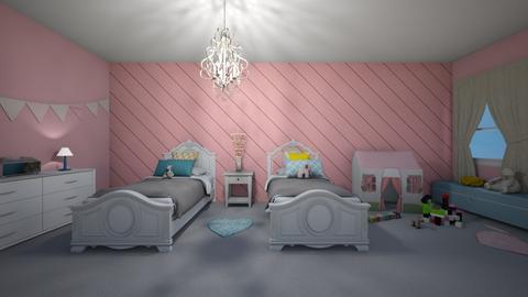 pattern bedroom - by fisherkara