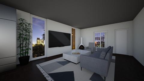 Living Room 3 - Living room  - by Tanem Kutlu