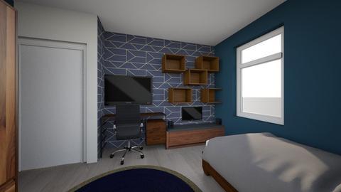 kamer Mike - Modern - Bedroom  - by sanbos22