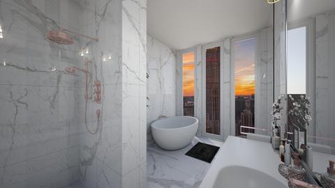 heal bath - Modern - Bathroom - by Jessi Bust