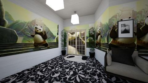 panda   - Living room  - by botkristin