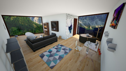 Modern Living Room - Modern - Living room - by irasemaarcibar