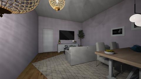 maison des abonnes  - Living room  - by Fellowes