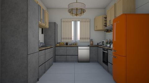 Small Kitchen - Classic - Kitchen  - by colorful_eye