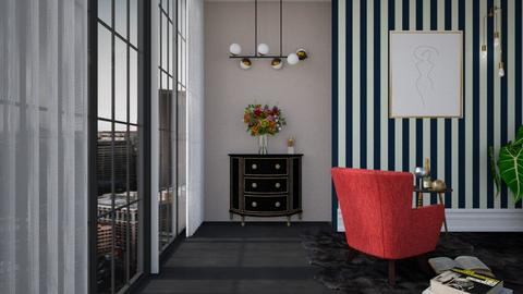 RLX DBF - Living room  - by diegobbf