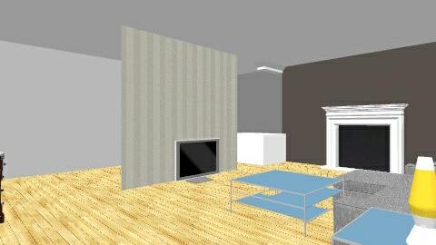 81 Roslyn - Living room - by wanderingpsychonaut