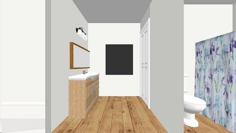 McDade master bath - Bathroom  - by alynh