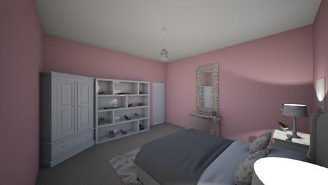 bedroom - Feminine - Bedroom  - by deandesigns