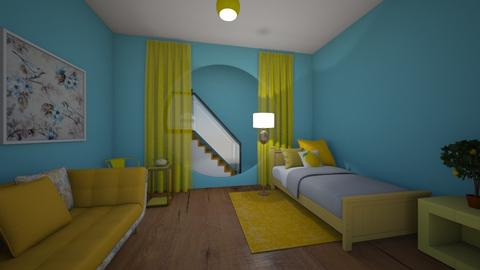 Lemon Cute - Eclectic - Bedroom  - by MiDesign