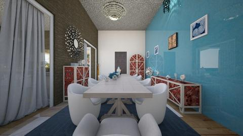 vacation paradise 2 - Glamour - Dining room  - by AngieDrws