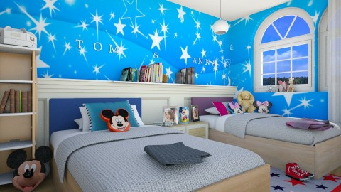 Mickey mouse room_25 - Kids room  - by Hajnalka978
