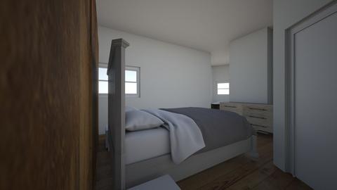 Bedroom redesign - Bedroom  - by natgaski