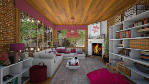Cozy Rainy Day - Modern - Living room  - by Joao M Palla