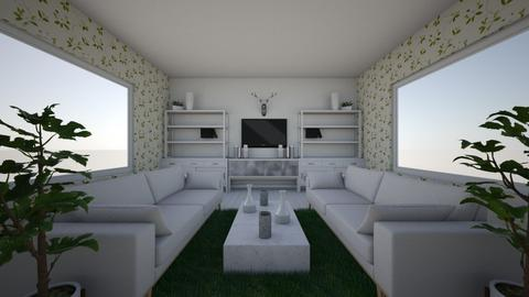 symmetrical balance 1 - Living room - by Reese1234