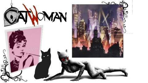 Catwoman - by Traer