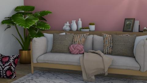 rustic444 - Rustic - Living room  - by Nizanhe