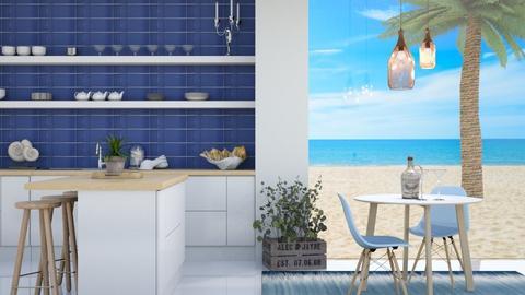 Ocean Kitchen 2 - Kitchen  - by Corzer