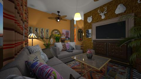 tribal - Living room - by ebonee