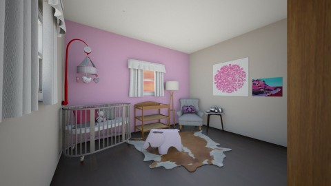 Baby Girls Room - Eclectic - Kids room  - by kennyhollis99