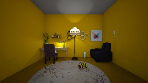 A Bee Office - Vintage - Office  - by My Queen