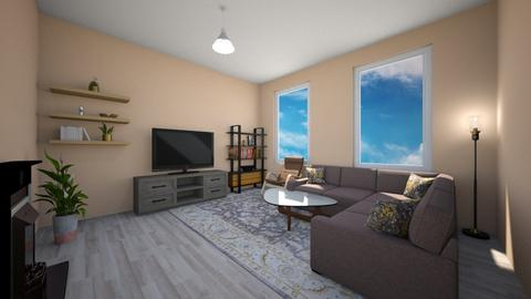 Clouds - Classic - Living room  - by Twerka
