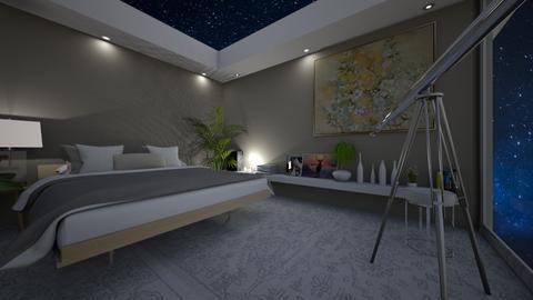 Star gaze - Bedroom  - by denizoden