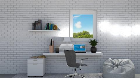 office nook - Office  - by DarcieM88