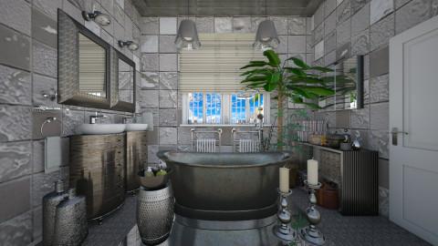 silver age  - Modern - Bathroom  - by Ida Dzanovic