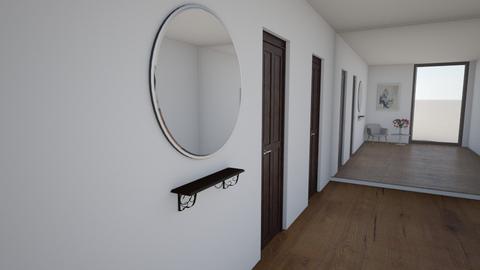 Warm hallway - by Merily