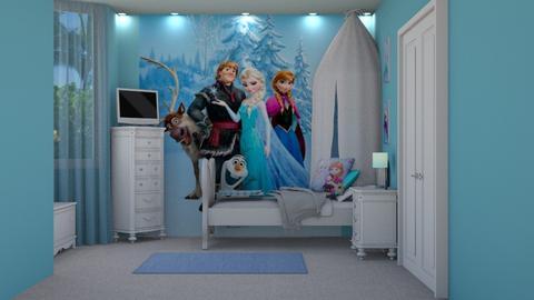 Frozen Room - Kids room  - by creato
